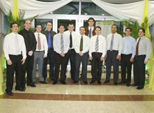 Dr. Marcio Cavalcanti participou da solenidade de colação no I.O.T neste ano de 2008